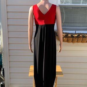 Enfocus Studio Dresses - Enfocus studio long sleeveless dress Red black 6